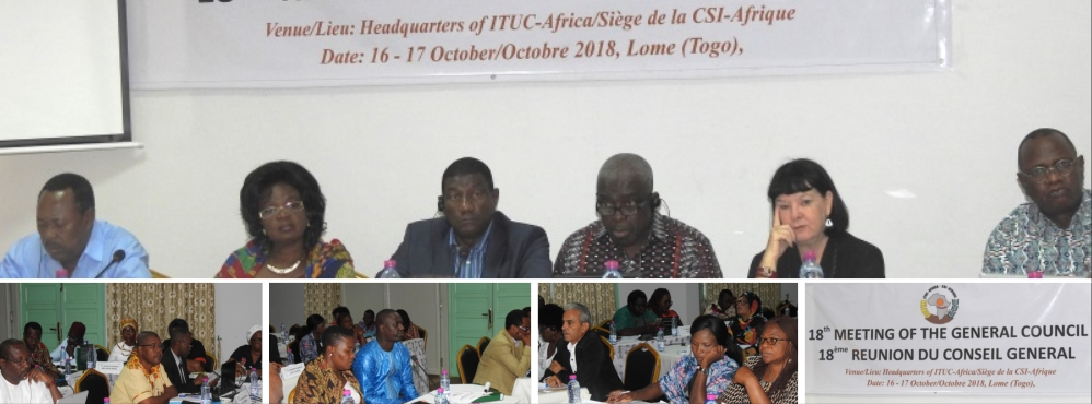 18th meeting of the General Council of ITUC-Africa